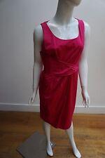Moschino Barato Chic Vestido Rosa Tamaño UK12 & 3376