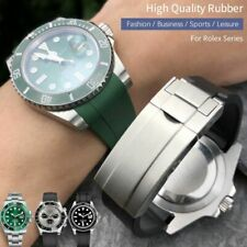 19 20 21 Rubber Watch Band For Rolex Daytona Submariner Oysterflex GMT Deepsea !