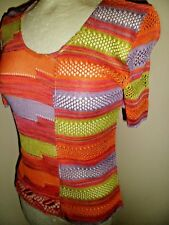 Unusual & Quirky Vintage CHRISTIAN LACROIX BAZAR Jumper Size Small