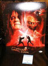 Star Wars Emperor Darth Sidious Ian McDiarmid Signed 11x14 Picture Beckett PSA
