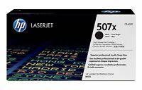 Genuine HP 507X Black High Yield Toner Cartridge CE400X
