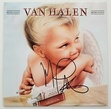 Michael Anthony Signed Van Halen 1984 Vinyl Record Bassist LEGEND RAD