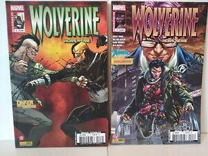 WOLVERINE Hors série 2 & 3 - Lot de 2 Comics français - TBE