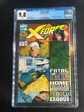 X-Force 25 CGC 9.8 WHITE Pages Marvel Hologram Fatal Attractions ORIGINAL OWNER