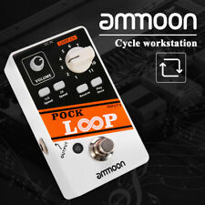 ammoon Looper Guitar Effect Pedal 11 Loopers Playback Reverse True Bypass D9C7