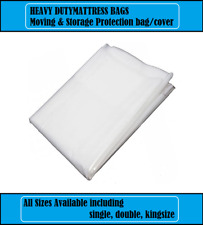 MATTRESS BAG HEAVY DUTY REMOVAL STORAGE MOVING TRADE DIY POLYTHENE THICK COVER