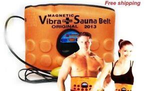 Magnetic Sauna Belt Fat Burner Vibrate Massager Slim Waist Belly Weight Loss