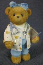 Cherished Teddies Paula 874728 Figurine 2000 Patricia Hillman Nurse