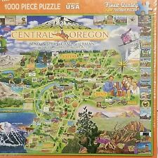 White Mountain Puzzles 1000 Piece Central Oregon Puzzle New Sealed Quality Fun