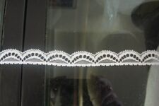 White Rigid Lace Trimming 212mts 1.7cm Wide