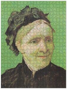 Portrait of Artist's Mother (van Gogh), jigsaw puzzle, 610mm×457mm, 500pcs