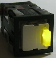 Honeywell AML 20 Yellow LED Push ON/OFF SPDT Micro Switch - 125 V AC/DC - 100 mA