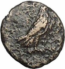 Kyme in Aeolis 350BC EAGLE & VASE on Authentic Ancient Greek Coin i48566