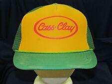 trucker hat baseball cap CASS CLAY retro style vintage rare rave cool nice