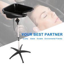 New Portable Shampoo Basin Height Adjustable Salon Hair Treatment Bowl Black