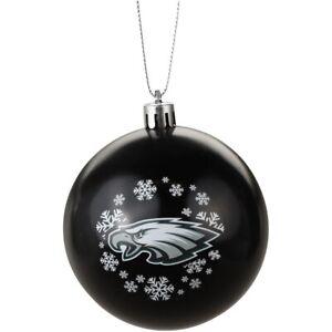 Philadelphia Eagles Football NFL Round Shatterproof Christmas Tree Ornament