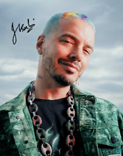 J BALVIN SIGNED AUTOGRAPHED REPRINT 8X10 COLOR PHOTO PROMO POSTER SPANISH MUSIC