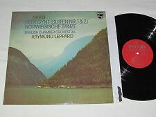 GRIEG Peer Gynt (Suite 1 & 2) Norwegian Dance LP 1976 Philips Raymond Leppard VG