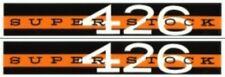 MOPAR '63-64 Plymouth Super Stock 426 Valve Cover Decal