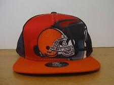 OSFM Youth NFL Outerstuff Cleveland Browns Stealth SnapBack Hat Cap NWT