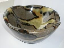large Septarian crystal Bowl. Dragon Stone 16.5cm