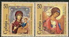 0327 SERBIA 2010 - Art - Icons - Joint Issue Serbia - Russia - MNH Set