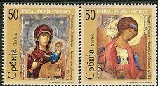 0327 serbien 2010-art-symbole-joint issue serbien-russland-mnh satz