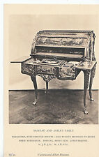Victoria and Albert Museum Postcard - Bureau and Toilet Table   ZZ2913