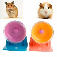 New Stable Mute Exercise Plastic Pet Rat Hamster Mouse Running Wheel Funny Toys