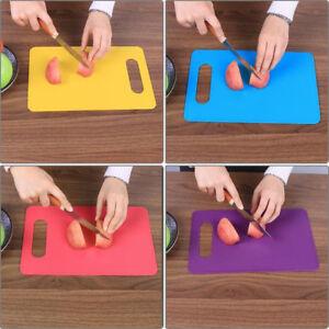 Non Slip Plastic Chopping Mat Vegetable Fruit Cutting Board Kitchen Gadgets .fr