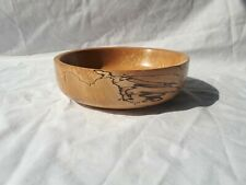 Spalted Beech Hand Turned Bowl