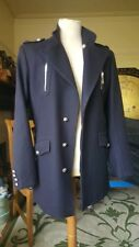 GIANNI VERSACE ITALY BLACK WOOL SPORTCOAT JACKET COAT M L