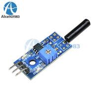 2PCS 3-5V LM393 Vibration Switch Sensor Module SW-18010P for Intelligent Vehicle