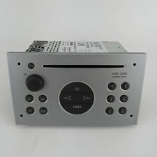 GENUINE Vauxhall / Opel Corsa C CD Head Unit Radio Matt Chrome 93176228