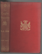 THE EAGLE A MAGAZINE BY MEMBERS OF ST JOHN'S COLLEGE VOL.26 1904 - 1905 HB 1905