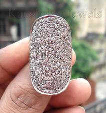 Victorian 3.42ct Rose Cut Diamond Women's Engagement Ring Christmas Season