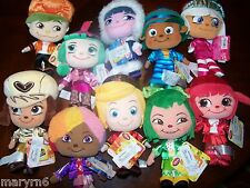 """WRECK-IT RALPH Complete set  of *10 SCENTED 9"""" BEAN BAG PLUSH DISNEY AUTHENTIC"""
