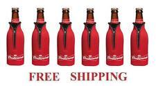 Budweiser 6 Bud Bottle Cooler Coozie Coolie Koozie Huggie New