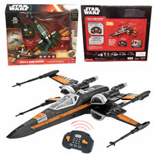 Star Wars Poes X-wing Fighter Premium RC Radio Remote Control Toy Gift 30m Range