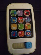 "New ListingFisher Price Cell Phone Pretend Play Buttons Sounds Toddler 5"" Tall Works"