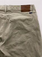 Lucky Brand 34 x 32 Khaki 121 Heritage Slim Soft Touch Super Flex 5 Pocket Pants