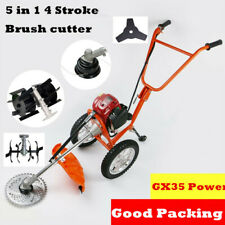 GX35 Multi 5 IN 1 Brush cutter 4 stroke Engine gas strimmer Grass cutter tiller