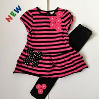 Toddler Kids Baby Girls Clothes 12M to 24M NWOT StartiingOut Leggings Set Outfit