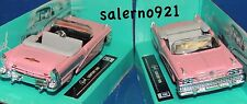 ONE 1958 BUICK CENTURY HOT PINK COLOR CONVERTIBLE 1:43 (O) Scale  NWB !