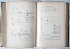 Traité de Charpente en Fer / Gustave Oslet / Fanchon & Artus Éditeurs / Fin XIXè