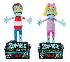 (You Pick) Boy or Girl Zombie Push Puppet Fine Motor Activity