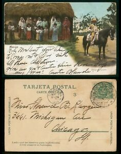 Mayfairstamps Mexico 1956 to Chicago IL Indigenas Postcard wwo_63849