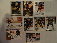 Pavel Bure 9 Card Lot Vancouver Canucks  ALL DIFFERENT!!!
