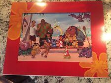 Disney 2003 Exclusive Commemorative Lithograph Stitch the Movie Lilo and Stitch