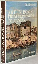 Mario Rivosecchi / ART IN ROME FROM BORROMINI TO CANOVA 1978 #248058